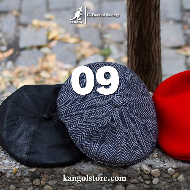 24 Hour Sale —Day 9: 15% Off Classic Kangol 504 Caps at http://kangolstore.com Discount Code: ksday9  #kangol12daysofsavings #kangol
