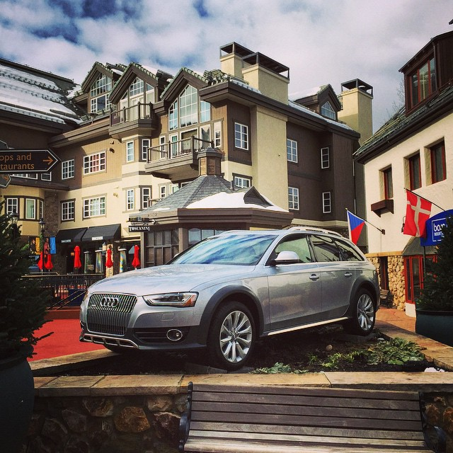 It's very exciting to officially partner with Audi at Beaver Creek and Vail.  Great brand that certainly fits well with what we are doing at our resorts!