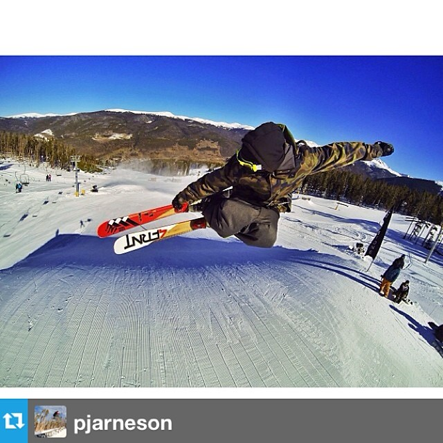 #Repost from @pjarneson shredding laps on Switchblade 181's at Keystone PC | @noah_wallace