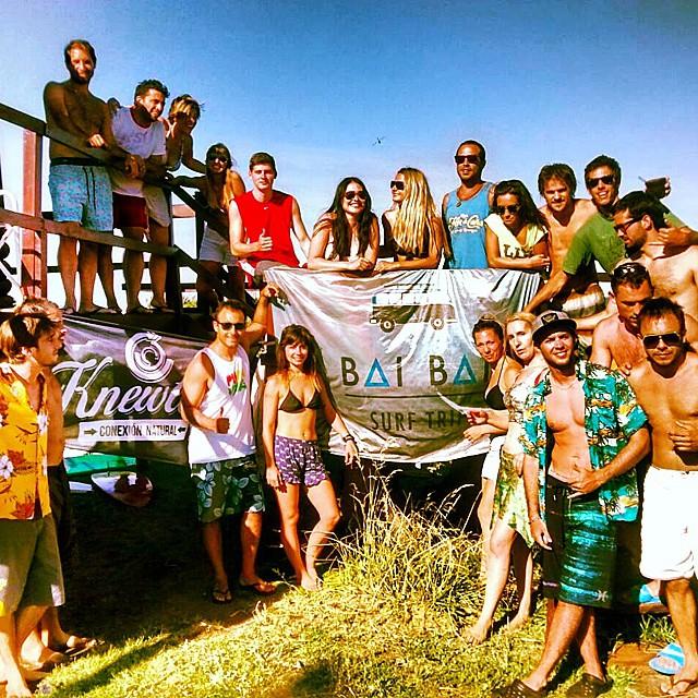 Explotó el Surftrip! .:Conexión Natural:. #TRANKASTYLE #SURF #TRIP #BAIBAI #SURFTRIP #MDQ #MIRAMAR #SUMMER2015 #KNEWTON