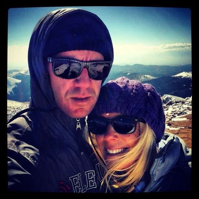 Missing her. Thankful for all she does. @monprimm #frozen #pikespeak