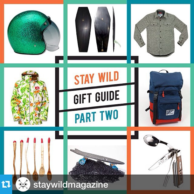 Happy Jollydaze! Stoked to have the minnow in @staywildmagazine gift guide! #staywild #jollydaze #giftsthatmatter #netstogifts