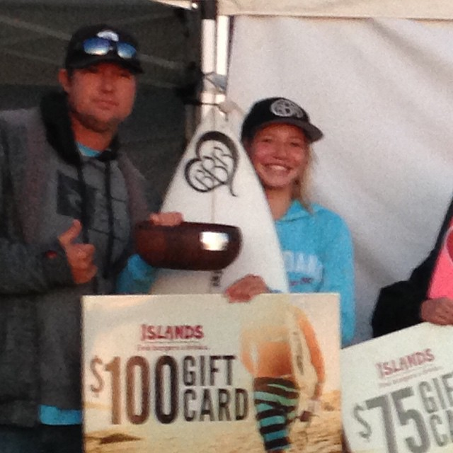 Congratulations to our Teamrider, Bethany Zelasko, for winning the Salt Creek Surfing America Prime event. We're so proud of you. Way to go @b_rosez  #bethanyzelasko #teamrider #bbr #buccaneerboardriders #saltcreek