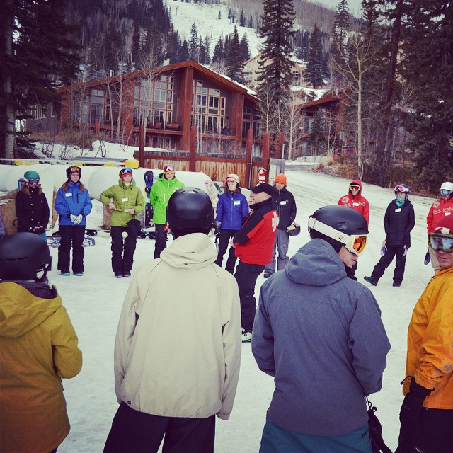Thanks @skipurg for hosting an SOS Sherpa Training this weekend! SOS programs at @skipurg in #Durango start in just a few weeks - can't wait to get more youth on the hill. #Spreadthelove
