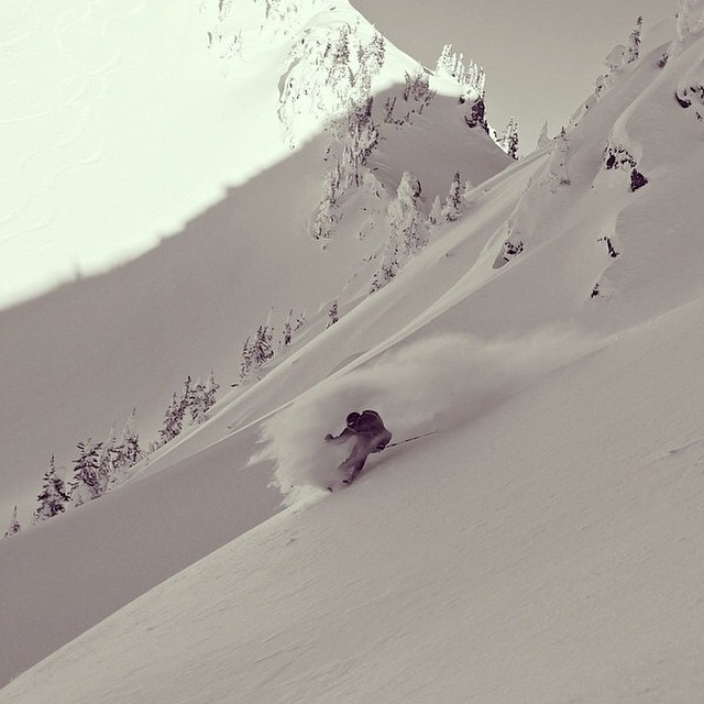 Flylow's @mr_mccraw making the most of some early season turns in Revelstoke backcountry. #embracethestorm