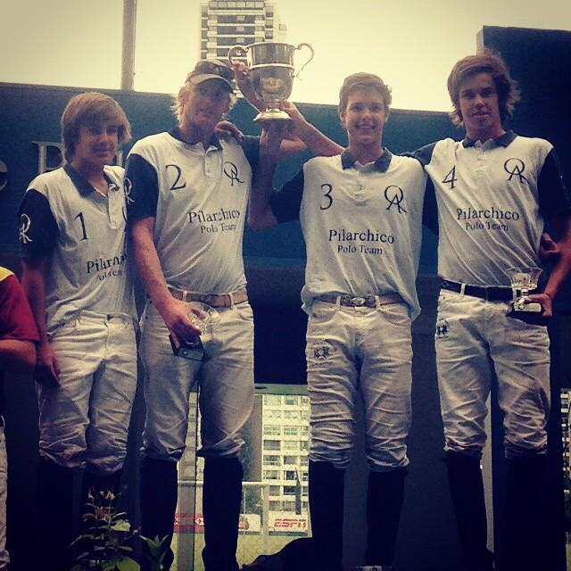 Felicitaciones QA Polo Team! Campeones de la copa Estimulo. Peque Gonzalez. Henri Fischer. Juan Martin Zubia. Jero del Carril