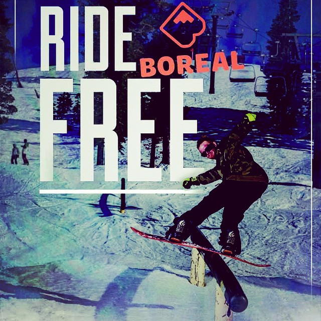 Supporting the shred!! Buy any 14/15 Academy board at one of our Nor Cal dealers and get a free ticket to @borealmtn #itsbasicallymagic  #goodallseason #goodpeople #greatsnowboards #supportlocal #academykidsrule #borealmagic #goshred