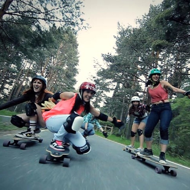 Sunday classics! Carving the Mountains video still. This is some of us in #Madrid, almost 3 years ago. Hope you're having a rad weekend! Pic @juanrayos