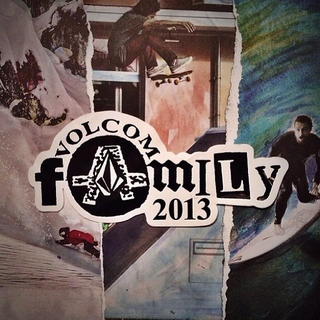 @volcomargentina llegamos a Diciembre y nos ponemos nostálgicos !!! Gracias amigos por acompañarnos!! #wearevolcomfamily #volcom