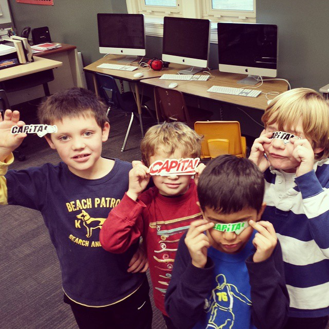 Capita kids. @bluemont @capitasupercorp #bromwell #dayone