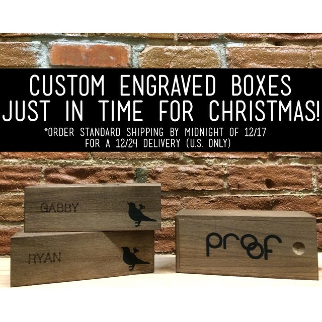 Customize your gifts this Christmas! Order today & tomorrow to get them delivered by 12/24 #iwantproof