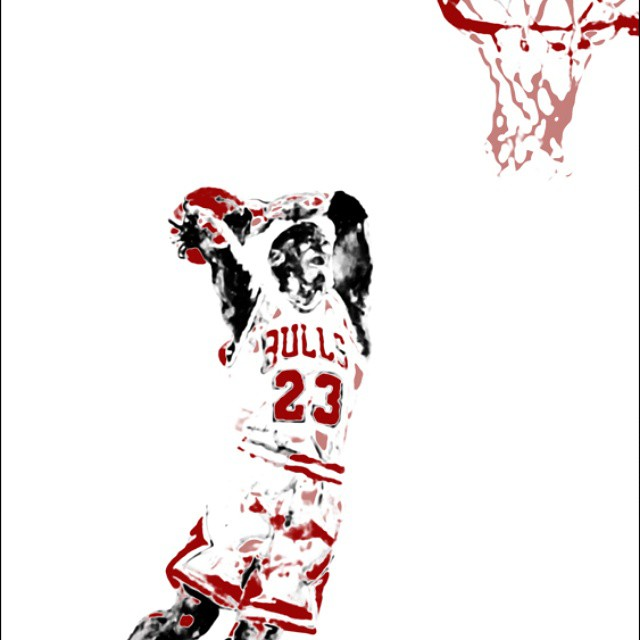 "Check out this classic @quigleyart piece ""Michael Jordan 2011"" Screenprint on 290lb Gram Rives BFK Archival Paper 30x22 in 5 of 60 paddle8.com/auction/wavesfordevelopment Thank you!"