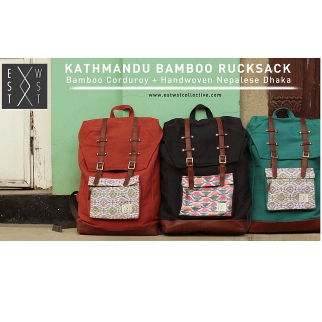 Our limited edition rucksacks are selling fast. Don't miss out! #ethicalfashion #ecofashion #bamboo #organic