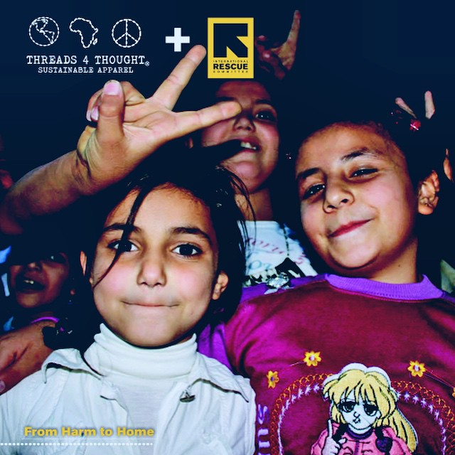 Give a gift that gives back. The more you spend the more we give to @theirc this #holiday!