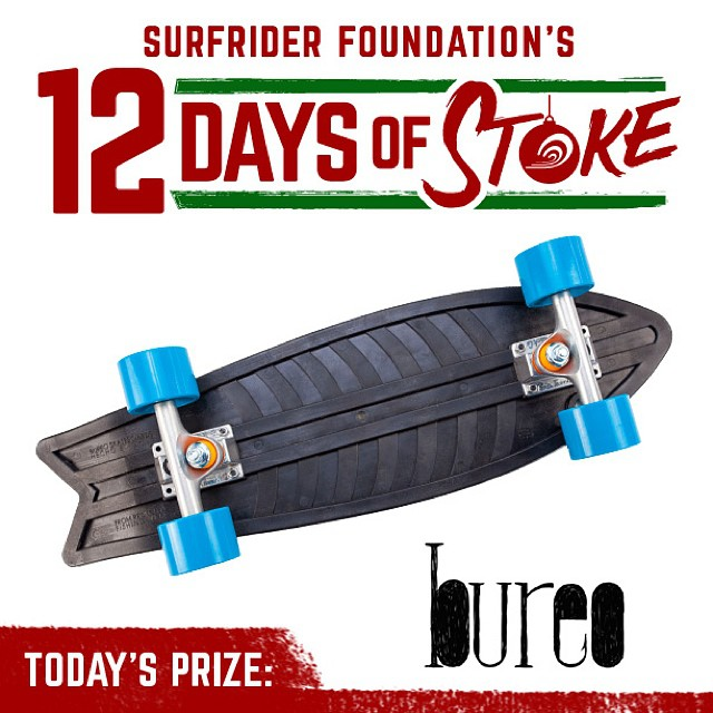 Excited to support @surfrider 12 Days of Stoke. Cruise over to Surfrider.org, and give a gift of a Surfrider membership. Help people people protect the ocean they love, and enjoy entry for some epic giveaways! #netstogifts #giftsthatmatter