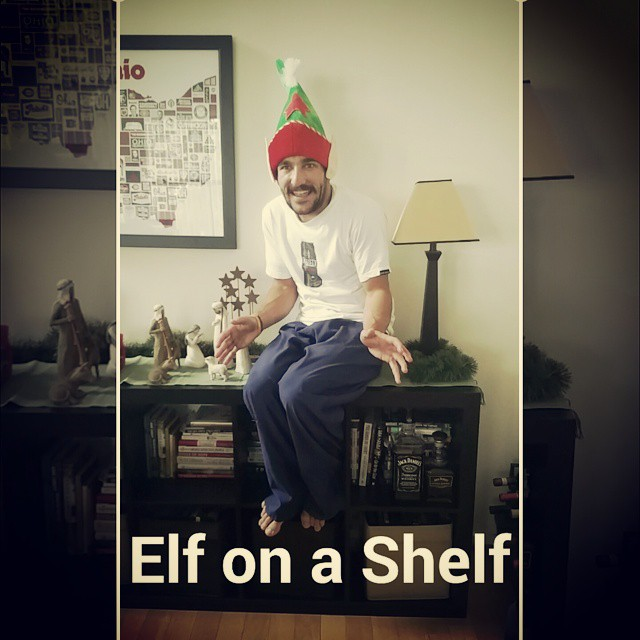 Remember Elf on a Shelf is always watching!!! #santassnitch #elfonashelf