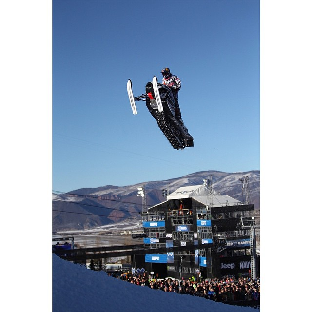@levi_lavallee is the only athlete to compete in all seven able-bodied #XGames snowmobile disciplines.  He owns medals in six.