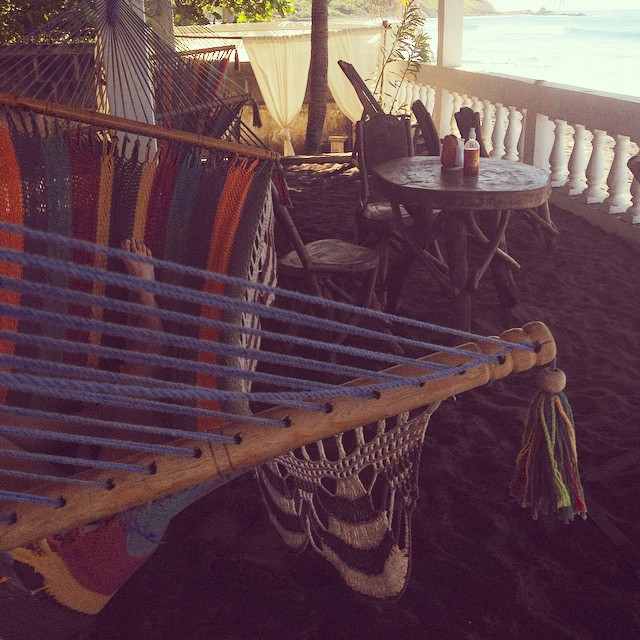 Two happy and tired surfers taking an ocean edge hammock nap session. #lifeisgoodatthebeach