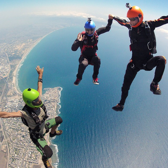 Photo of the Day! Jumping in Israel over Bay of Acre and Achziv Beach. Photo by @hazanhaniyh.