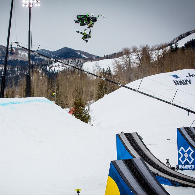 In 2013, Joe Parsons took home three #XGames Aspen medals.  He is the only male athlete to accomplish that feat.