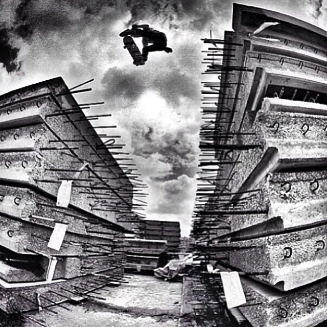 Frontside Flip, Geoff Rowley #volcom #volcomStoneAge #skate