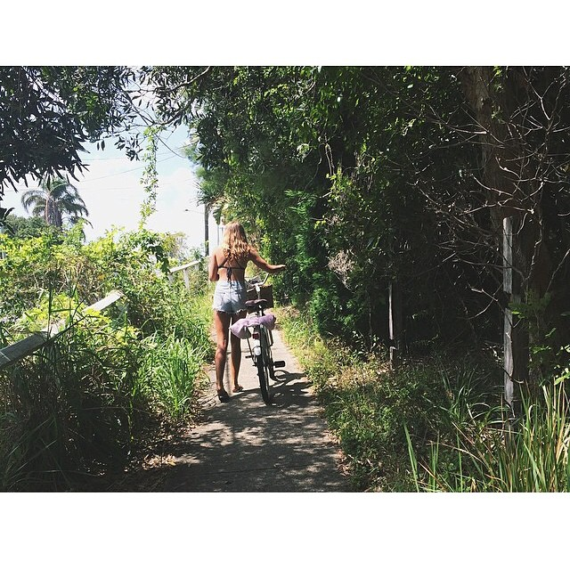 Tropical Bike Rides...love this shot from one of our new brand ambassadors @gracie_murdoch ! #miola #miolainthewild #muse #getoutthere