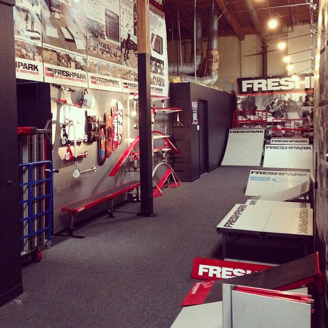 The new and improved FRESHPARK showroom! #freshpark