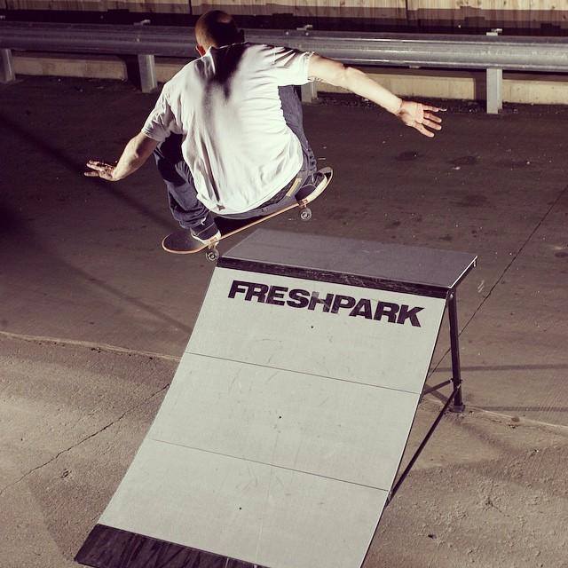 #Freshpark #quarterpipe #skate