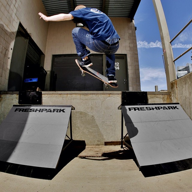 Tag us in your #Freshpark photos! #skate #ramps