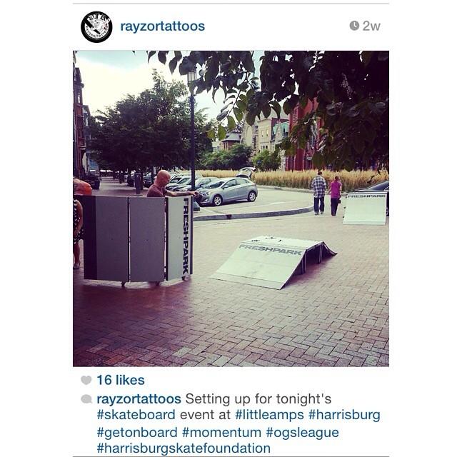 Repost @rayzortattoos #freshpark