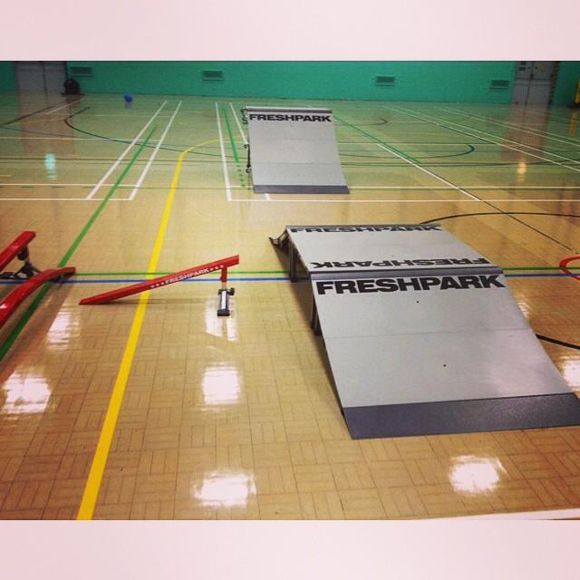 FRESHPARK comes indoors for schools #freshpark