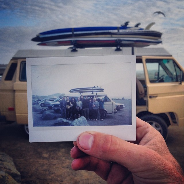 So long to a majestic weekend on the road with some sweet waves and even sweeter company. @surfisswell @alisonsadventures @surfisswellbro @afrizzle7 #surfisswell #polaroid #thanksgivingweekend