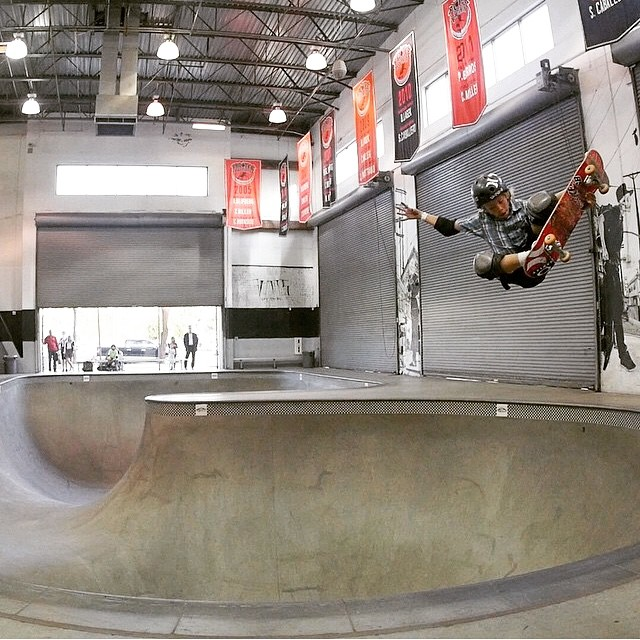 Regram @k33gan got a few runs in last week at the combi before flying back home to australia . #keeganpalmer wears the #s1 #liferhelmet . #skateboarding #bowlrider #grom #skatehelmet #currumbin #australia