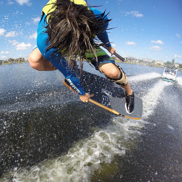 GoPro athlete @dieterhumpsch shows us how to wakeskate.