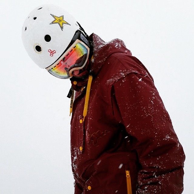Ludwig Buckley fitted with the perfect lenses for the perfect storm! #ski #snowboard #shrednation #snow