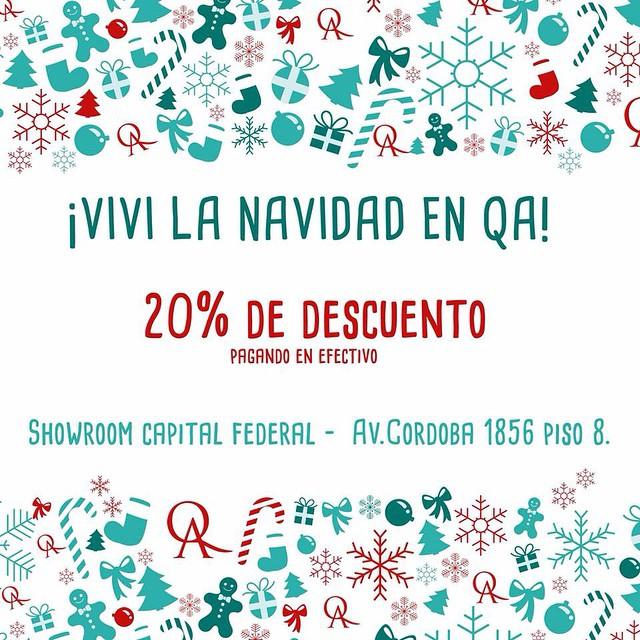 Empezamos la Navidad QAndo Queremos #QuienSabedeActitud www.QA.com.ar  Sólo en nuestro showroom en Córdoba 1856 Piso 8
