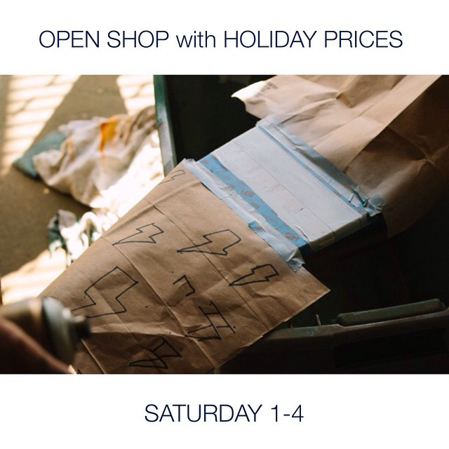 This Saturday from 1-4, stop by our shop and pick up some last minute Christmas gifts without having to pay for shipping. We are located at 1423 2n Ave. N. All boards and apparel are discounted for the holidays! #handmade #skateboards...