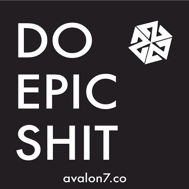 Don't forget. #avalon7 #liveactivated www.avalon7.co