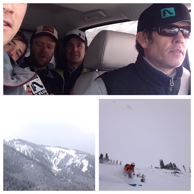 Doing a marketing meeting, might as well do it in Jackson Hole.  Had a solid boot pack to powder, worked and finished with an AIARE Avalanche course.  Work, play, better yourself.