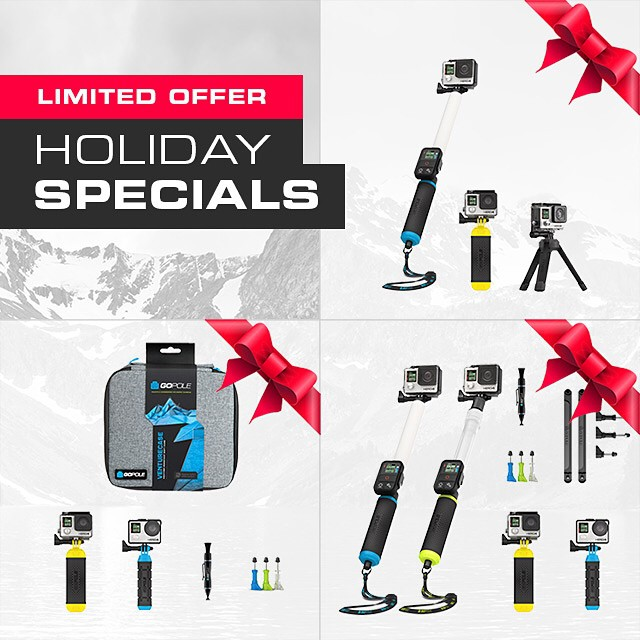 Limited Offer GoPole Holiday Specials. Shop now at GoPole.com #gopole