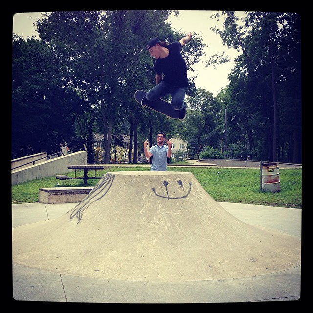 @plan9heshin666 Early melon over two birds. Photo:@_nichols__ #tbt