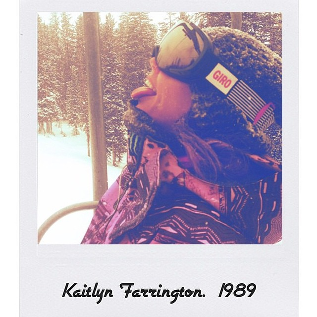 Happy freakin' birthday to the amazing #TeamB4BC rider @kaitlynfarr!  Enjoy the birthday pow today :) #behealthygetactive #1989
