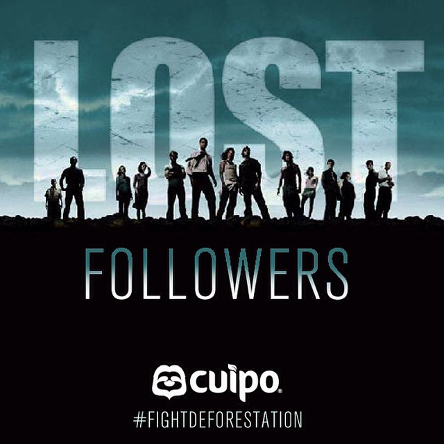 New reality show coming soon: #LostFollowers about everyone on Instagram who can't handle the #spamfollowers clean out. Stay tuned! #fightdeforestation #cuipo #saverainforest