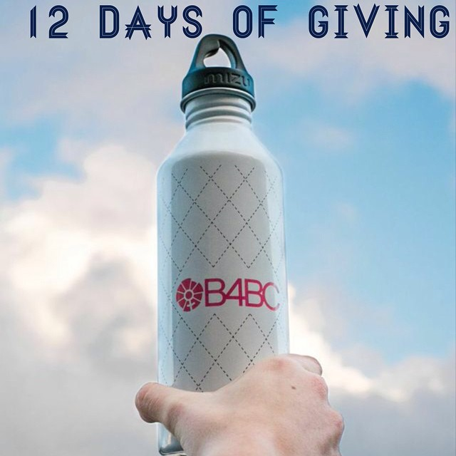 12 DAYS OF GIVING // Mizu  DAY 8: We  l o v e  our @MizuLife bottles, and to be honest we don't really know what we would do without them!  With 2 B4BC styles out now and a #pink one on the way, you're sure to find one that's just right for that...