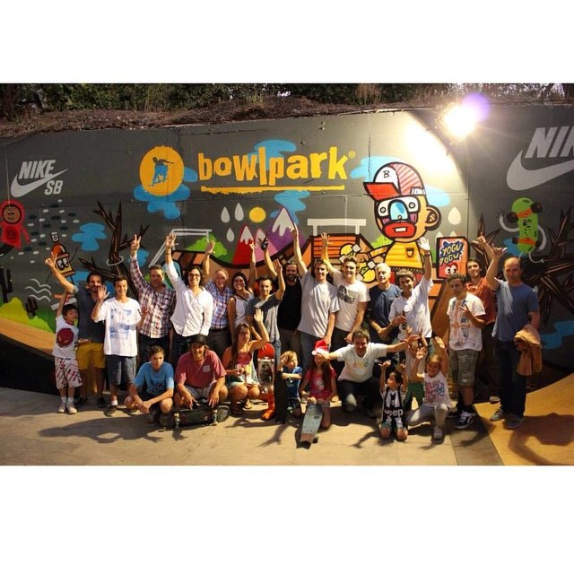 Had a blast hanging with everyone @bowlpark last night with the @patagoniachile crew! #netstodecks