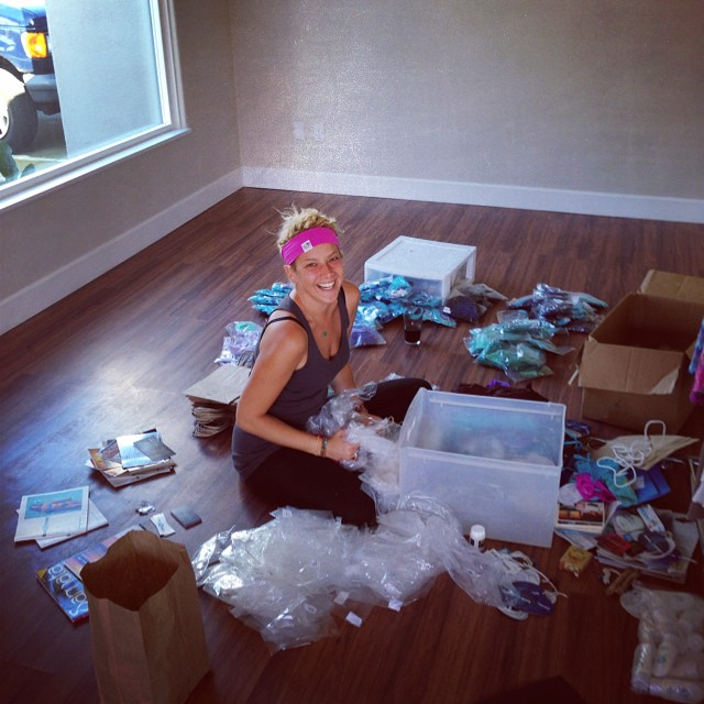 The awesome @andymay23 helping us unpack into our new HQ in Oceanside!