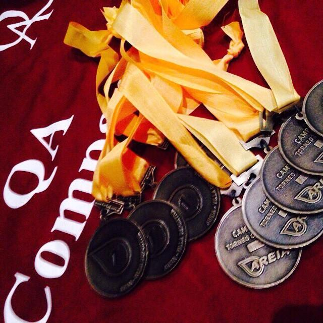 Medallas de bronce a la Actitud de oro #QuienSabedeActitud #TheQATeam www.QA.com.ar