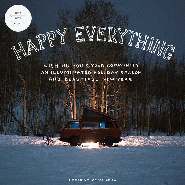 HAPPY EVERYTHING  Some seasonal #westylove from #leftleftright