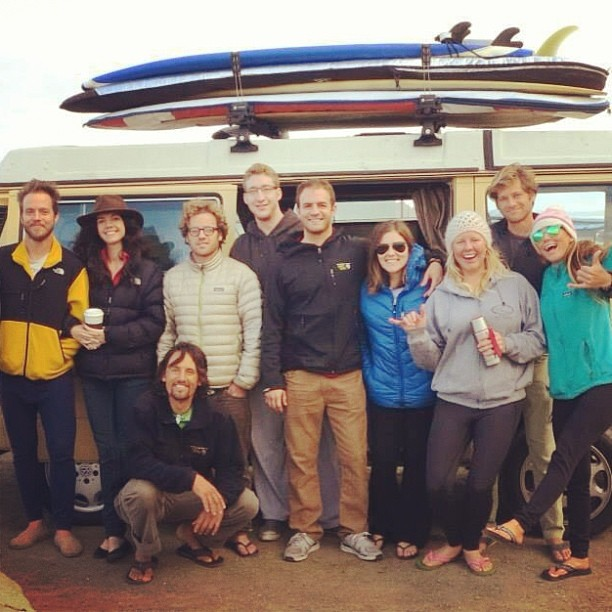 Thanksgiving surfari crew! Friends, food and gratitude! #norcal #surf #roadtrip #vanlife @surfisswell @hisarahlee @surfisswellbro @afrizzle7