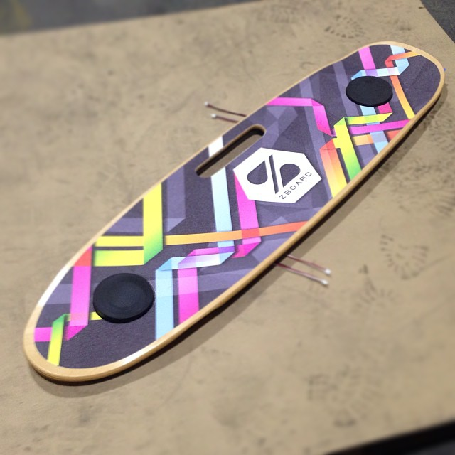 RadGeo Custom #ZBoard Deck looking great!